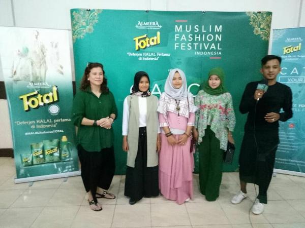Total Almeera Road to Muffest 2018 di kota Padang