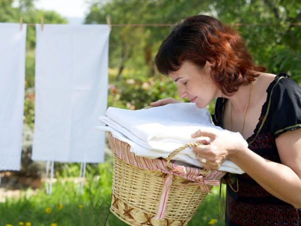 Cara mempertahankan cucian tetap Wangi